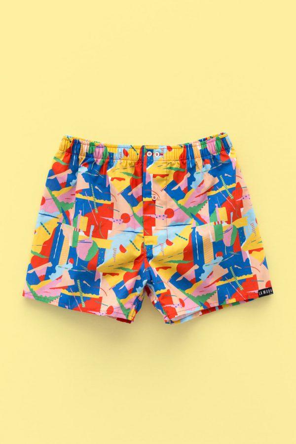 Pattern design for La Muda Underwear, Collaboration
