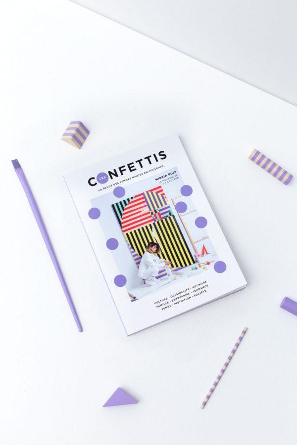Interview for Les Confettis Magazine